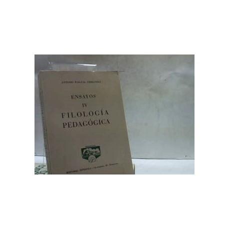 FILOLOGIA PEDAGOGICA